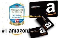 Logo Amazon ti regala solo per oggi un buono sconto da 10€