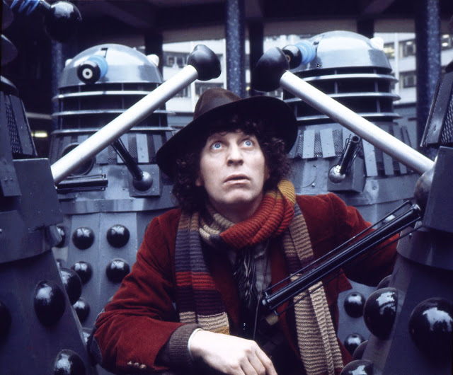 """Scene from """"Doctor Who: Genesis of the Daleks"""""""