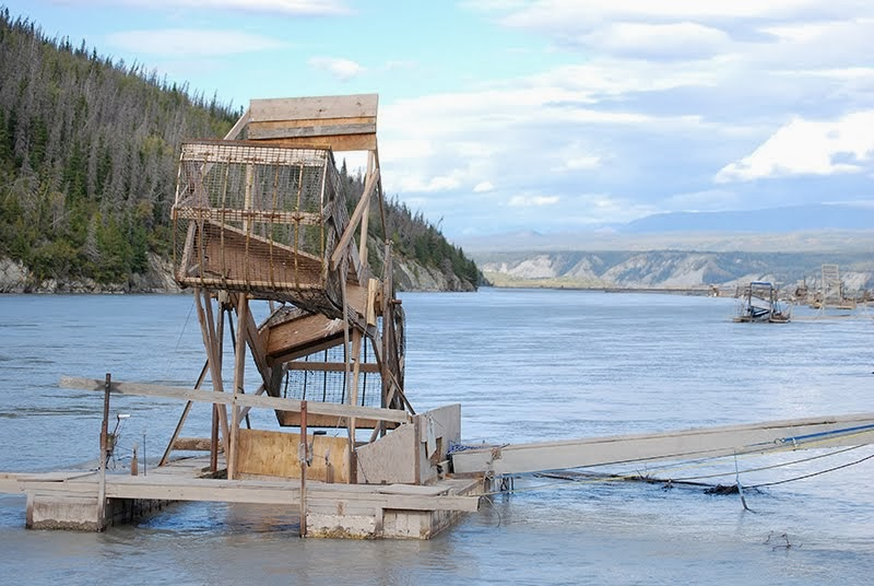 Fishwheels On The Copper River