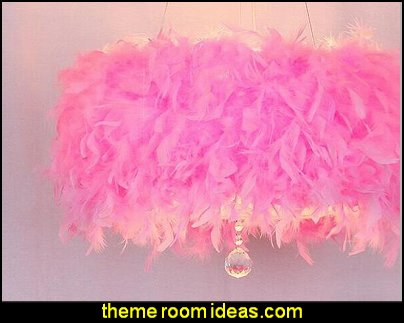 pink feather ceiling lamps  faux fur home decor - fuzzy furry decorations - Flokati - mink - plush - shaggy - faux flokati upholstery - super soft plush bedding - sheepskin - Mongolian lamb faux fur - Faux Fur Throw - faux fur bedding - faux fur blankets - faux fur pillows - faux fur decorating ideas - faux fur bedroom decor - fur decorations - fluffy bedding -