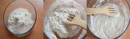 making the dough enhancer for Agege bread Nigerian bread)