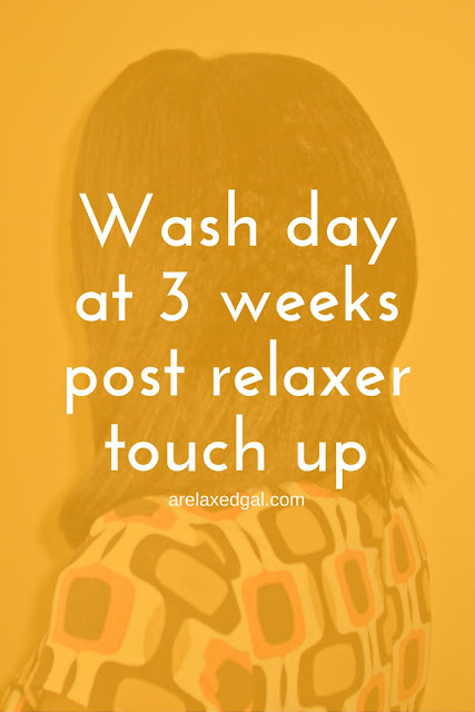 This past weekend was my third wash day since my relaxer touch up and I was still noticing some shedding and breakage. See what products I used. | @arelaxedgal