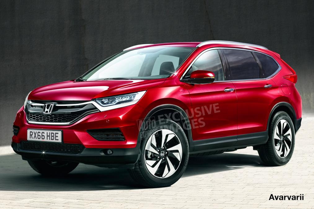 ... : New Honda CR-V ready to grow with seven seats for 2017 model