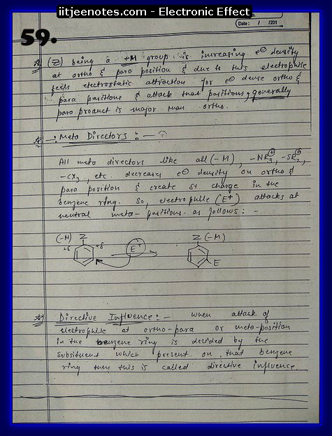 Electronic Effect chemistry14