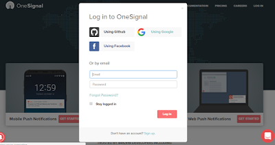 Blogger Blog Par One Signal Push Notification Kaise Add Kare- Technicalvkay.com