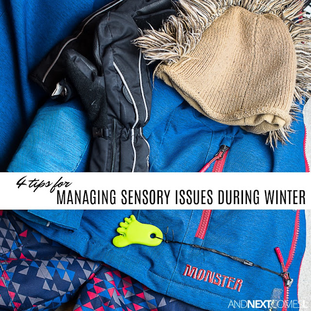 Winter sensory tips