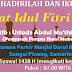 Pelaksanaan Sholat Idul Fitri 1438 H di Pondok Pesantren Ibnul Mubarok Samarinda