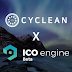 CyClean's Main ICO and Partnership with ICO Engine