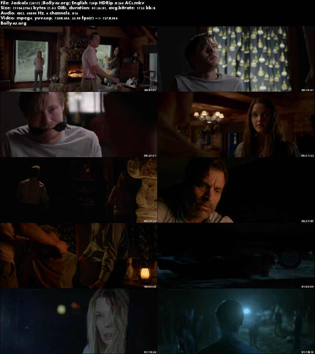 Jackals 2017 HDRip 1Gb Full English Movie Download 720p