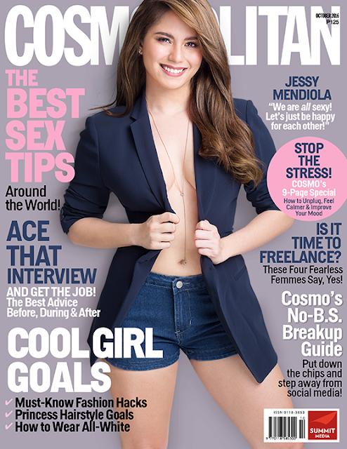 Jessy Mendiola Cosmopolitan October 2016 Cover Issue
