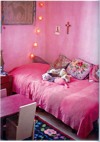 pretty in pink bedroom moon to moon bohemian bedroom adding a splash of colour 16799