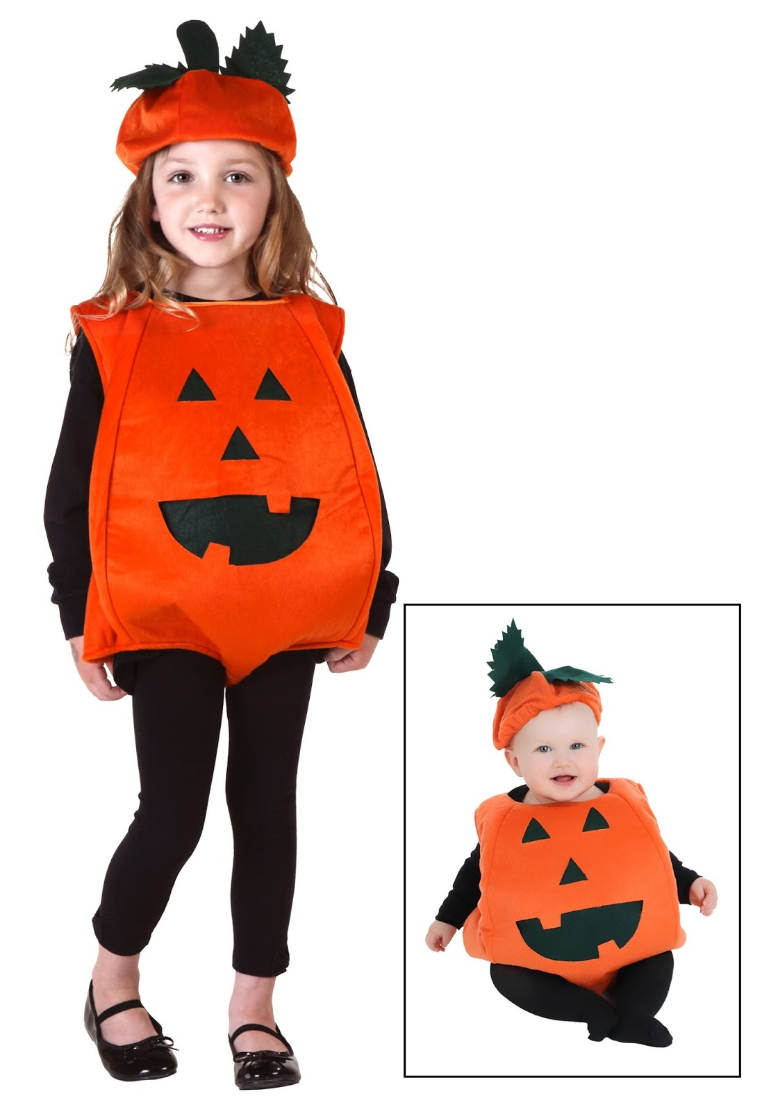 ORANGE PUMPKIN COSTUME