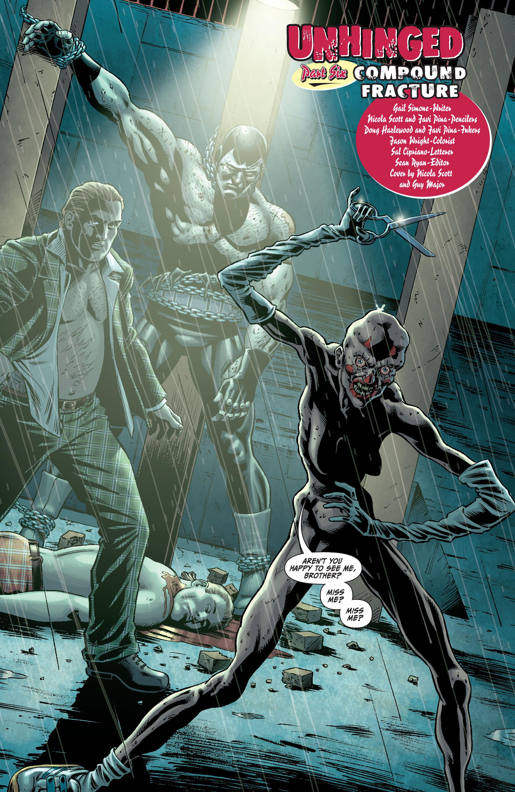 Read online Secret Six (2008) comic -  Issue #6 - 4