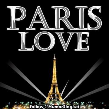 DP BBM Paris Love Animasi bergerak GIF