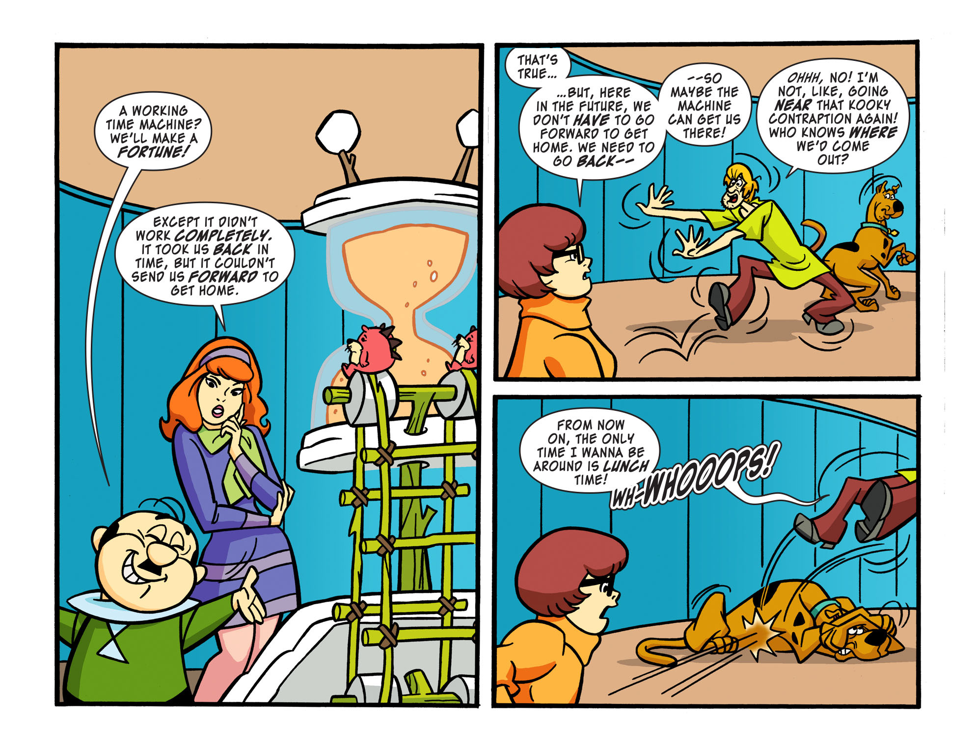 Read online Scooby-Doo! Team-Up comic -  Issue #16 - 19