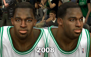NBA 2K13 Boston Celtics Cyber Face Pack Brandon Bass