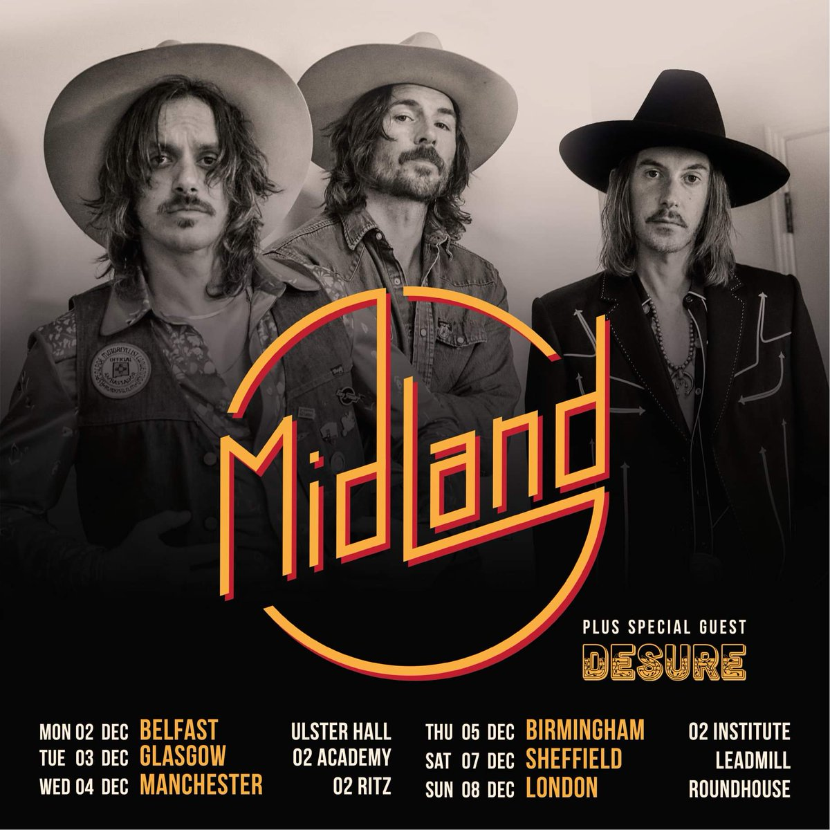 c417cb8b55 Midland are heading back to the UK in December for a headline tour it has  been announced.