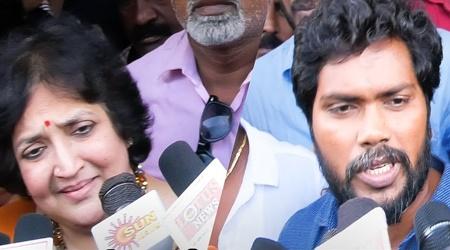 Rajinikanth Is Right? Latha & Pa Ranjith Straightforward Replays! | KAALA | FDFS