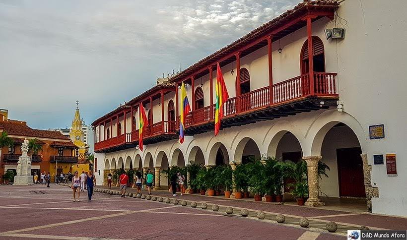 Plaza de la Aduanas - Roteiro de 4 dias em Cartagena, Colômbia