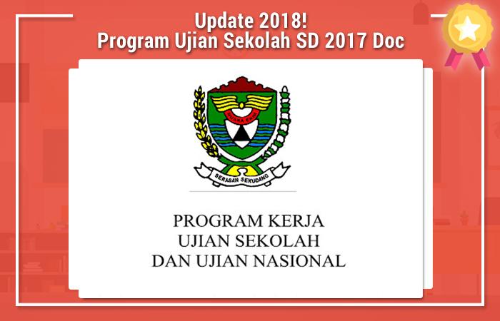 Program Ujian Sekolah SD 2017 Doc