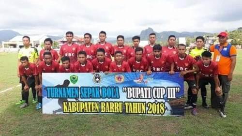 Garuda FC Abbatunge Unjuk Kekuatan, Kalahkan Tunra 6 Gol Tanpa Balas Pada Turnamen Bupati Cup Barru III 2018