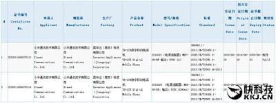hai mẫu điện thoại Xiaomi mới