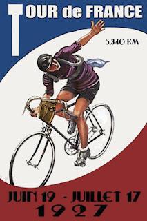 le tour de france 1927 affiche, histoire du tour, le FLE en un clic