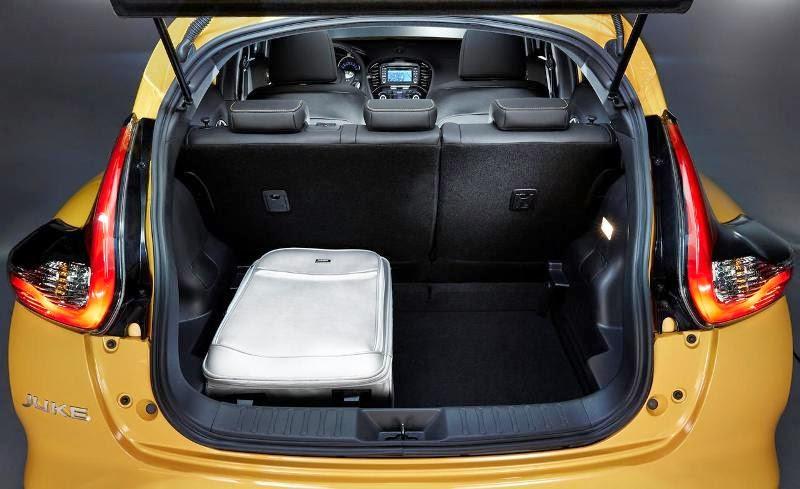 Bagasi Nissan Juke 2016