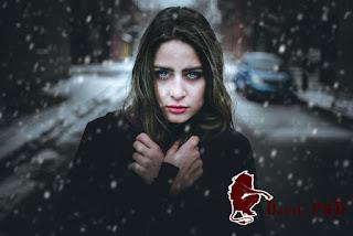 snow using photoshop