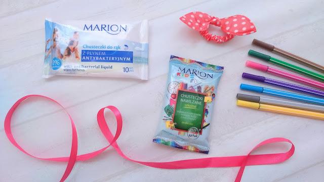 Niezbędnik myszy czyścioszki - nawilżane chusteczki odświeżające Marion