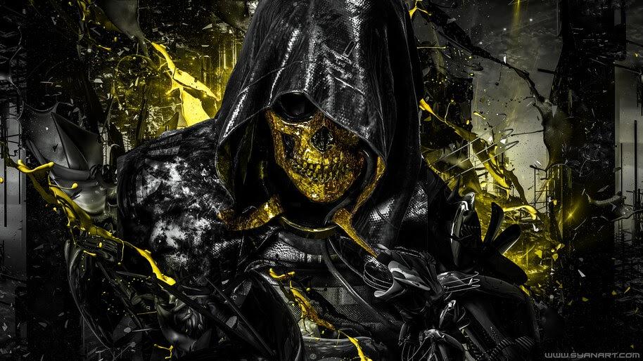 Death Stranding, Higgs, Skull, 4K, #3.712 Wallpaper