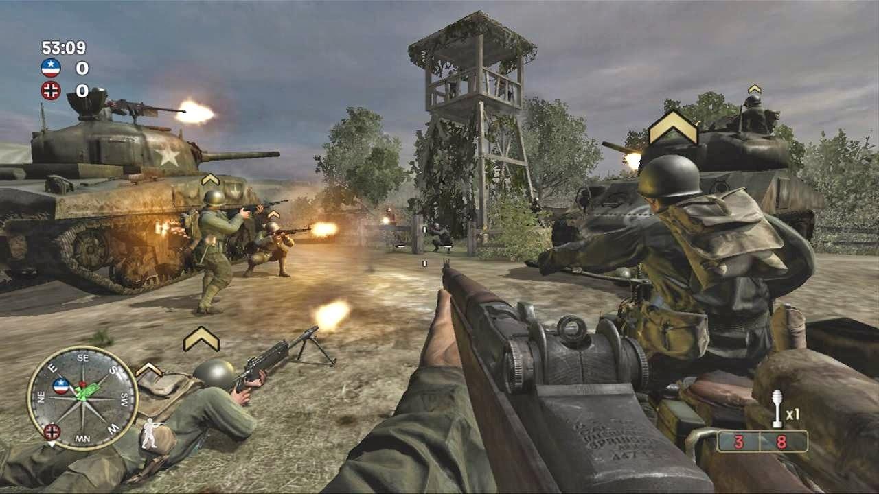 Resultado de imagen para Call of Duty Roads to Victory psp