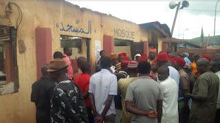 Enugu Mosque Fire: Ohanaeze Visits Muslim Community, Appeals For Calm
