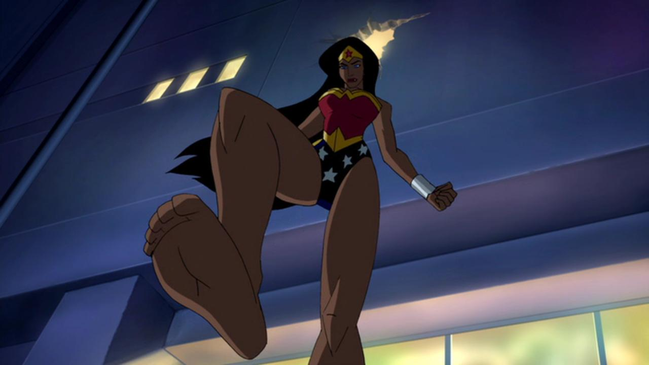 Wonder Woman Animated Sexy