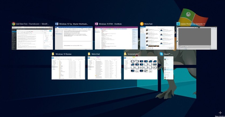 Virtual desktops & Split View for Multitasking