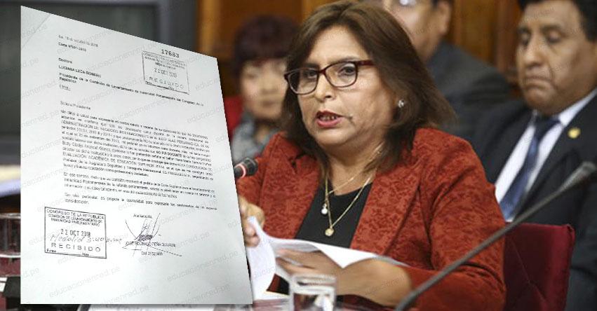 Docente desmiente a Congresista fujimorista Betty Ananculí y aclara que nunca le enseñó