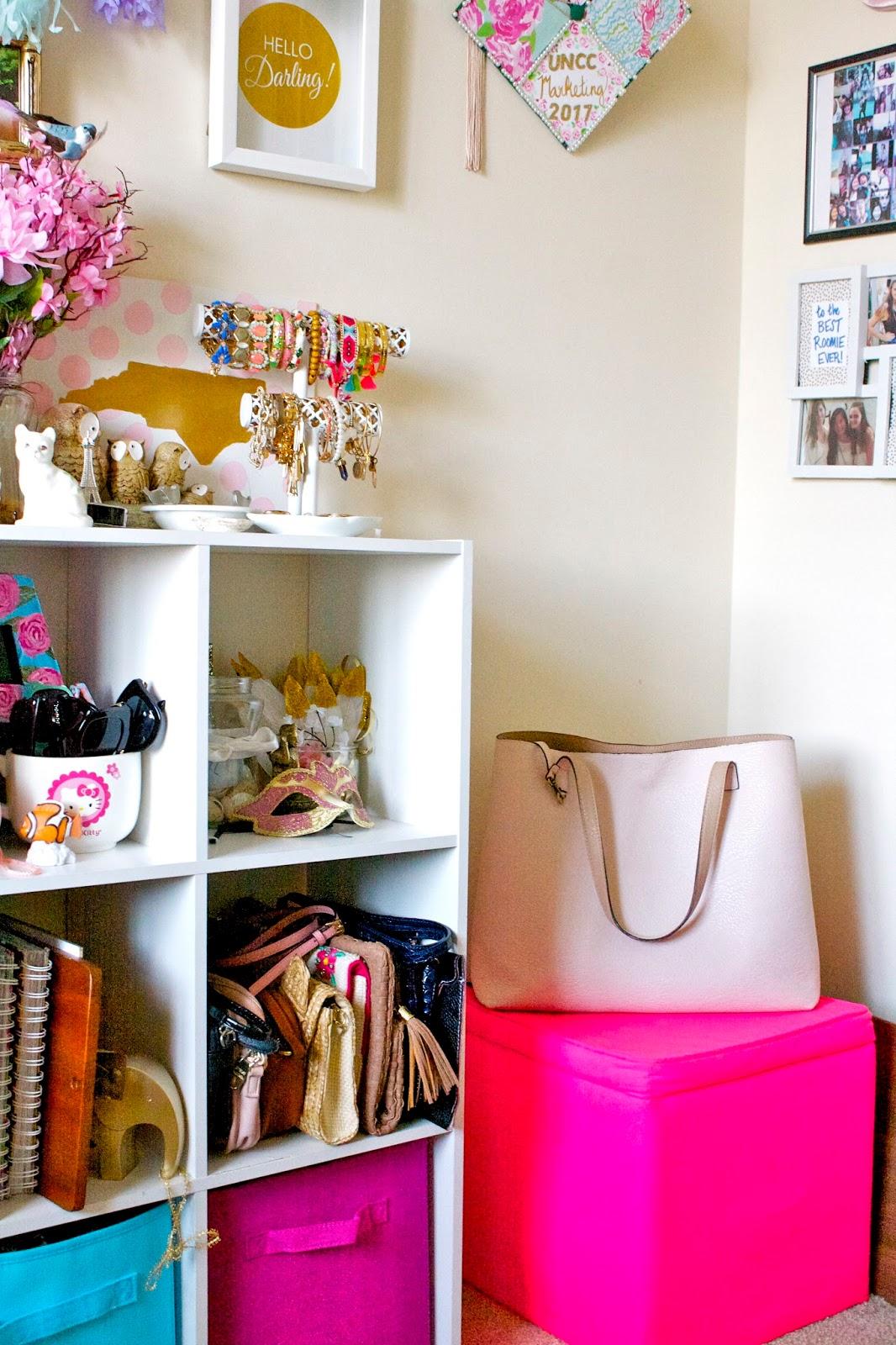 pastel n pink: college apartment room tour