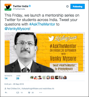 Twitter India launches new mentorship program for students, #AskTheMentor