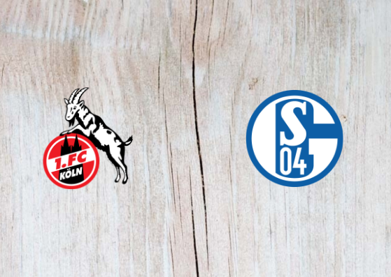 FC Koln vs Schalke 04 - Highlights 31 October 2018