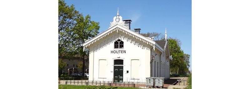 Station Op Wielen Houten.Houten Geschiedenis Van Houten