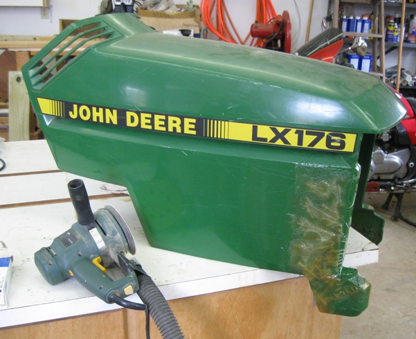 Fortunately Rust Oleum S John Deere Green And It Was A Fairly Good Match