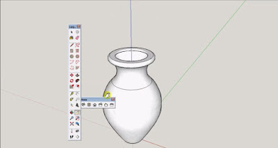 Sketchup Tutorial Make Vase with ease