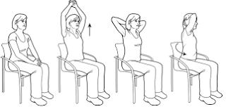 Up and twist stretches