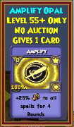 Amplify - Wizard101 Card-Giving Jewel Guide