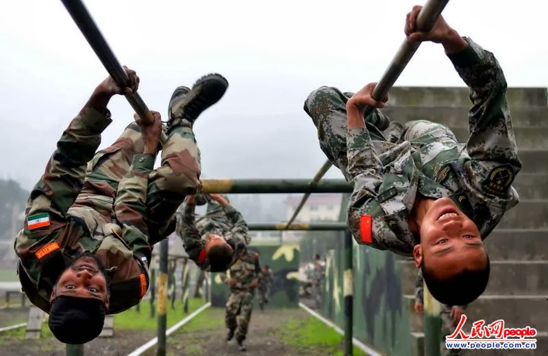Proud to be indian: India China joint anti-terror training ...