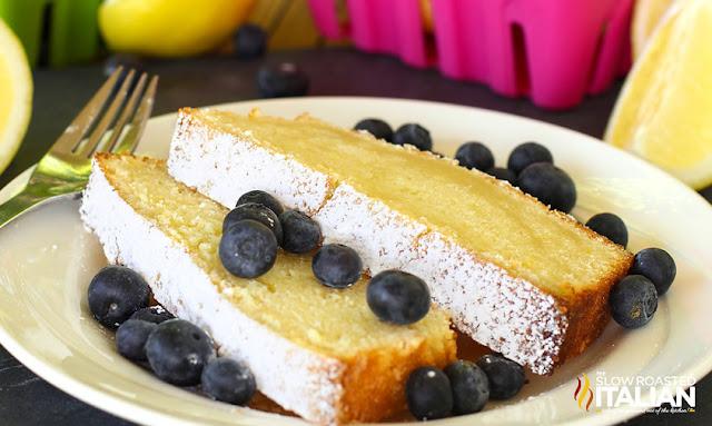 Best Ever Lemon Burst Pound Cake