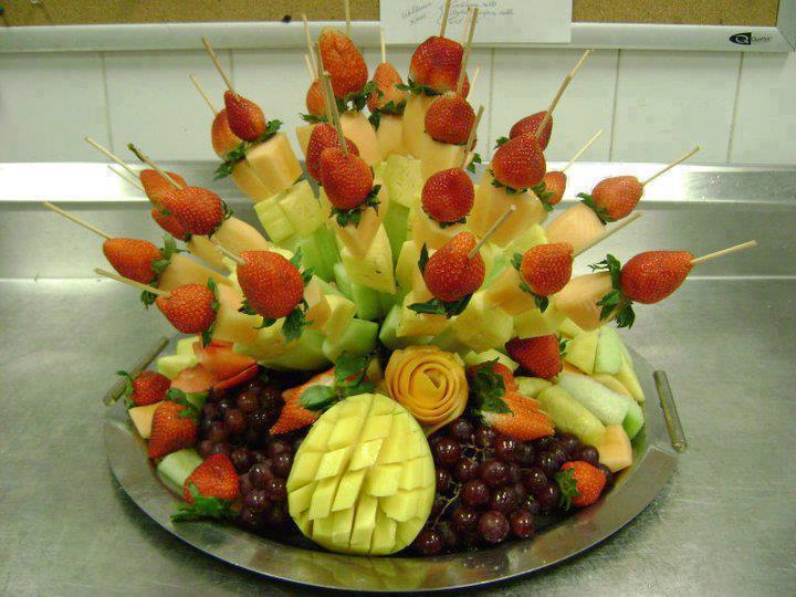 Parti Dekorasyon Ve Organizasyon Meyve Tabağı Sunum Modelleri