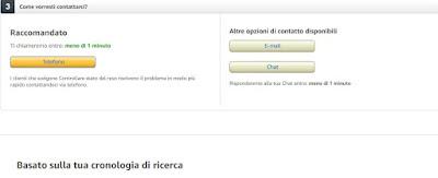 Richieste Amazon
