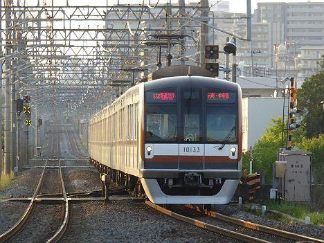 【メトロ車が55K代走!】東上線を走る快速急行 元町・中華街行き