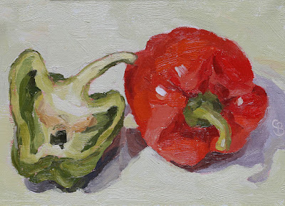 #76 'Peppers' 5×7″